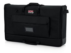 Gator Cases Padded Nylon Carry Tote Bag for Transporting LCD Screens, Monitors and TVs Between 2 ...
