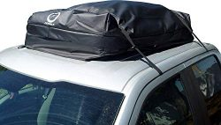 Fedmax Car Rooftop Carrier | Waterproof | Lock Included | Roof Top Luggage Bag (20CFT – Us ...
