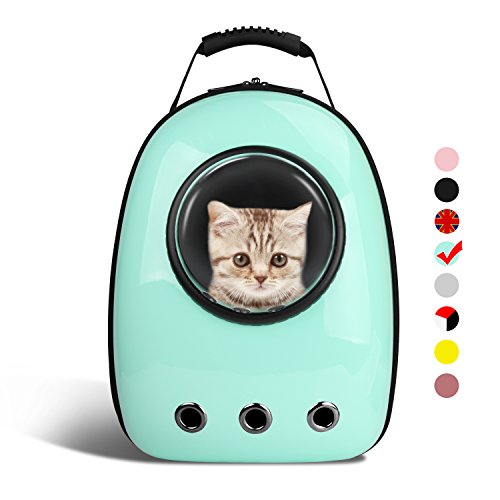 addc63e2e0 AntTech Breathable Pet Travel Backpack Space Capsule Carrier Bag Hiking Bubble  Backpack for Cat .