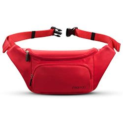 FREETOO Fanny Pack Waist Pack for Women,with Large Capacity,Waterproof, Sweat-Resistant and Wear ...