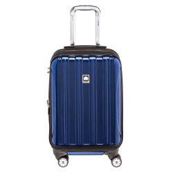 Delsey Luggage Helium Aero, International Carry On Luggage, Front Pocket Hard Case Spinner Suitc ...