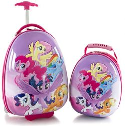 Heys America My Little Pony Kids 2 Pc Luggage Set -18″ Carry On Luggage & 12″ Ba ...