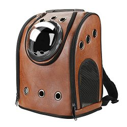 Texsens Innovative Traveler Bubble Backpack Pet Carriers Airline Travel Approved Carrier Switcha ...