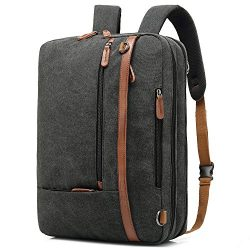 CoolBELL Convertible Backpack Shoulder Bag Messenger Bag Laptop Case Business Briefcase Leisure  ...