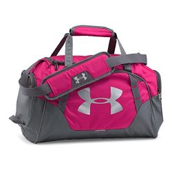 Under Armour Undeniable 3.0 X-Small Duffle Bag, Tropic Pink /Silver