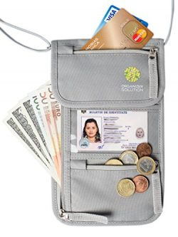The Travel Wallet by Organizer Solution, Passport Holder for Men, Passport Wallet for Women, Lig ...