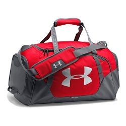 Under Armour Undeniable 3.0 Small Duffle Bag, Red (600)/Silver