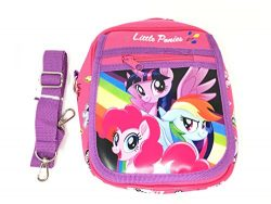 My Little Pony Wallet-Passport Bag- String Sling Tote Bag Backpack (PONY AND FRIEND SHOULDER BAG)