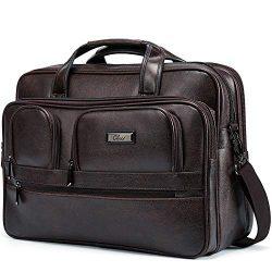 Briefcase for Men Women 15.6 inch Laptop Bag Organizer Large Capacity Travel Business Laptop Cas ...