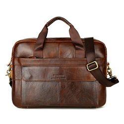 Clearance!Todaies Men Leather Messenger Shoulder Bags Business Work Briefcase Laptop Bag Handbag ...