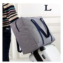 Foldable Travel Bag Waterproof Travel Duffel Bag,Women Ladies Man Canvas Weekender Bag Overnight ...