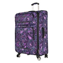 Ricardo Beverly Hills Mar Vista 4 Wheel Expandable Upright, 28-Inch, Purple Paisley