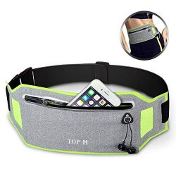 Running Belt Ultra Light Running Waist Pack Adjustable Waistband Fanny Pack Sweatproof Sport Wai ...