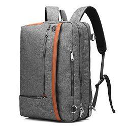 CoolBELL Convertible Backpack Shoulder Bag Messenger Bag Laptop Case Business Briefcase Leisure  ...