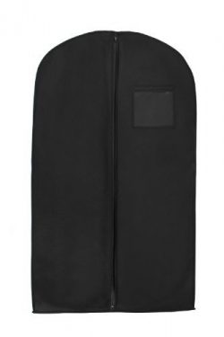 Bags for Less Black Suit & Dress Travel & Storage Garment Bag Durable, Rip Resistant, Re ...