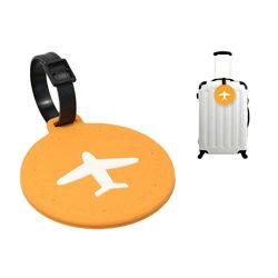 Hot Sale!DEESEE(TM)Flexible Portable Information Cards Name Labels for Traveling PVC Luggage Tag ...