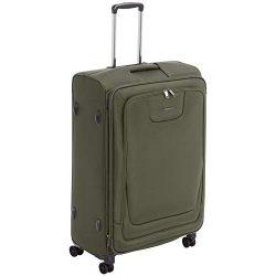 AmazonBasics Premium Expandable Softside Spinner Luggage With TSA Lock- 29 Inch, Olive