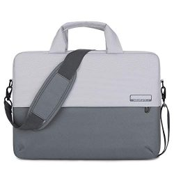 BRINCH 15.6 Inch Soft Nylon Laptop Bag Water Resistant Notebook Shoulder Messenger Bag Lightweig ...