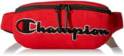 Champion Men's Prime Waist Bag, Bright red, One Size