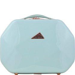 Kensie Luggage Gemstone 13″ Beauty Case (Mint)
