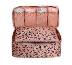 Travel Bra Socks Underwear Cosmetic Accessory Toiletry Organizers Bra Bag for Travel