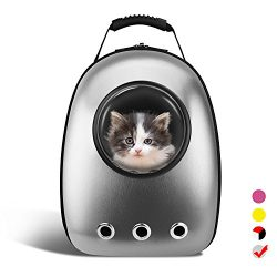 AntTech Breathable Pet Carrier Backpacks Travel Backpack Space Capsule Carrier Bag Hiking Bubble ...
