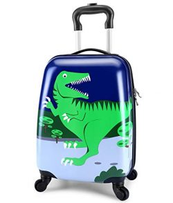 Lttxin kids' suitcase 16 inch Polycarbonate Carry On Luggage, Lovely,Hard Shell ,Boys,Chil ...