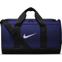NIKE Team Women's Training Duffel Bag, Light Concord/Black/White, One Size