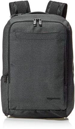 AmazonBasics Slim Carry On Travel Backpack, Black – Overnight