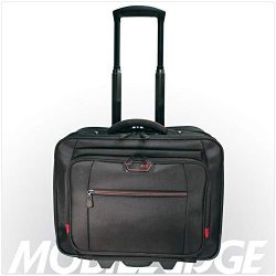Mobile Edge Professional Overnight Rolling Laptop Briefcase, TSA Friendly Design