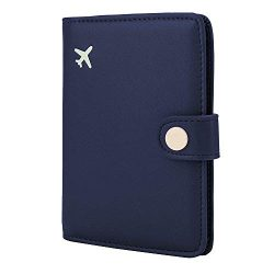 Allbest2you Wallet Passport Case Holder Travel Card Organizer RFID Blocking ID Protector