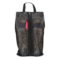 pack all Water Resistant Travel Shoe Bags, Shoe Storage Organizer Shoe Pouch with Zipper, for Me ...