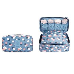 Bra Underwear Travel Compartment Lightweight Cosmetic Bag Packing Organizer Waterproof Pack Cube ...