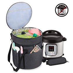 Luxja Carrying Bag Compatible with Instant Pot (6 Quart), Travel Tote Bag for 6 Quart Pressure C ...