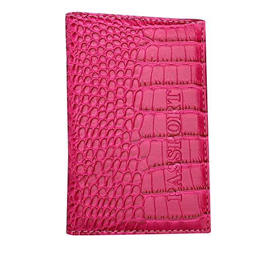 ZOMUSAR Crocodile Pattern Travel Document Organizer & Passport Wallet Case, Family Passport  ...