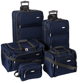 Samsonite Outpost 5 Piece Nested Luggage Set (Navy)