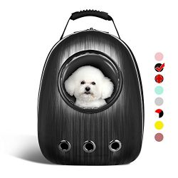 AntTech Breathable Pet Travel Backpack Space Capsule Carrier Bag Hiking Bubble Backpack for Cat  ...