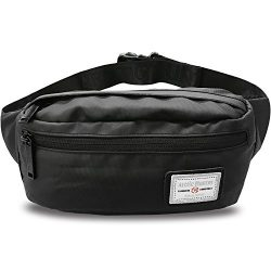 AOHAN Fanny Pack Waist Pack Bag for Men Women Waterproof Lightweight Hip Bum Bag for Workout Tra ...
