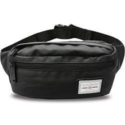 AOHAN Fanny Pack Waist Pack Bag for Men Women Waterproof Lightweight Hip Bum Bag for Workout Tra ...
