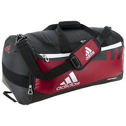 adidas Team Issue Duffel Bag, Power Red/Black, Large