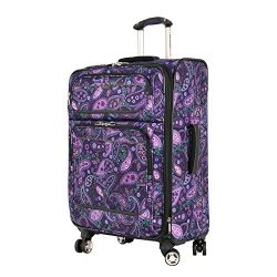 Ricardo Beverly Hills Mar Vista 4 Wheel Expandable Upright, Purple Paisley