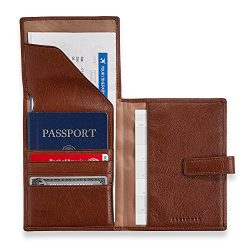 Levenger Privacy Passport Ticket Wallet