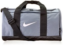 NIKE Team Women's Training Duffel Bag, Cool Grey/Black/Storm Pink, One Size