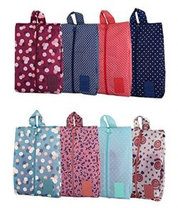 Travel Shoe Bags Portable Oxford Shoe Bags with Zipper Closure Waterproof Storage Organizer Bag  ...