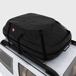 adakiit Car Roof Bag Top Carrier Cargo Storage Rooftop Luggage Waterproof Soft Box Luggage Outdo ...