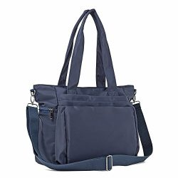 ZORESS Women Fashion Large Tote Shoulder Handbag Waterproof Multi-function Nylon Travel Messenge ...
