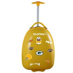 Denco NFL Green Bay Packers Kids Lil' Adventurer Luggage Pod