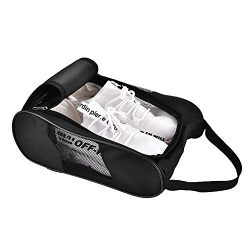 Acogedor Shoe Bags,Travel Golf Shoe Organizer Bags/Boxes – Breathable Nylon with Zipper S ...