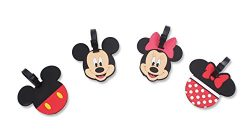 Finex Set of 4 – Mickey Mouse Minnie Mouse Travel Silicone Luggage Tags Bag Tag Adjustable ...