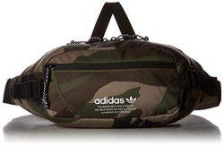 adidas Originals Utility Crossbody Bag, Olive Cargo Aw Camo, One Size